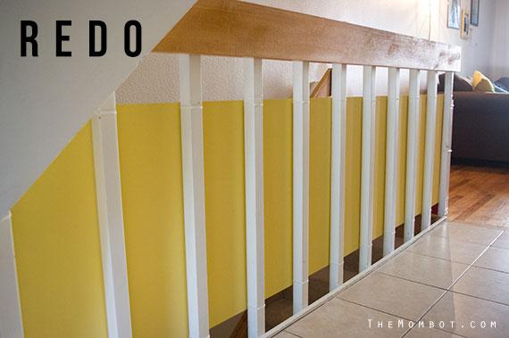 Stylishly Babyproofing Stair Railings